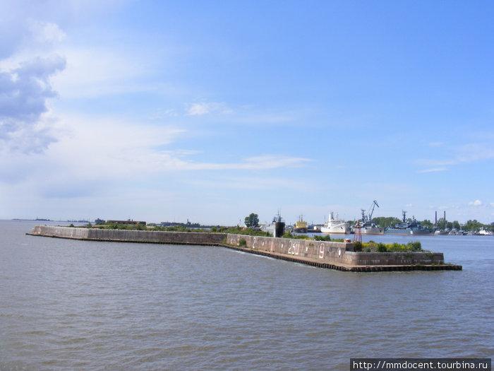 оборонительные сооружения Кронштадта