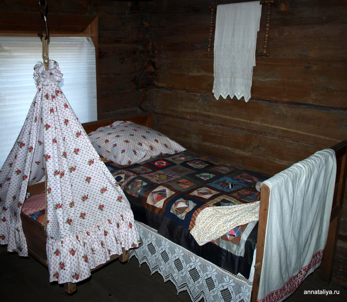 Спальня в доме Ошевнева