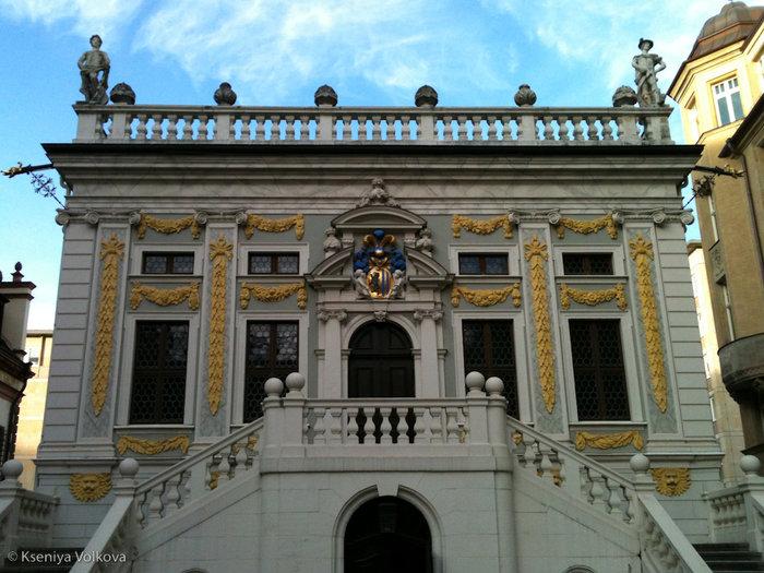 здание лейпцигской Старой биржи