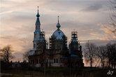 Собор в деревне Старополье. Реставрация идет почти десяток лет(((
