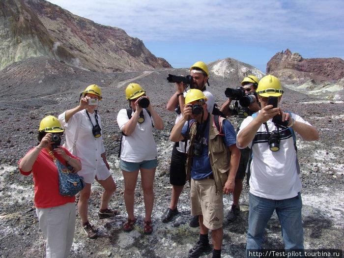 Группа фотографов