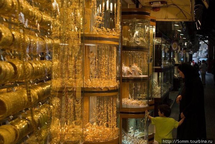 Золотой рынок Дубаи...