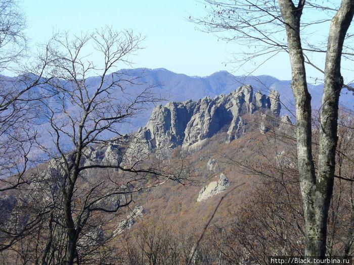 Гора Индюк с Семашхинского хребта