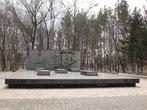 В память погибшим солдатам