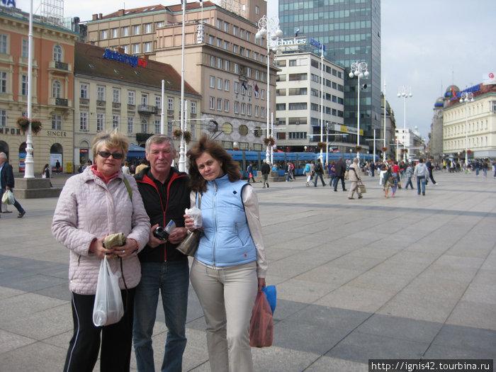 г.Загреб.Центральная площадь