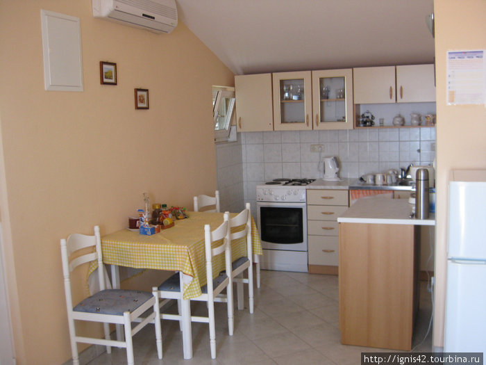 Кухня в наших апартаментах.