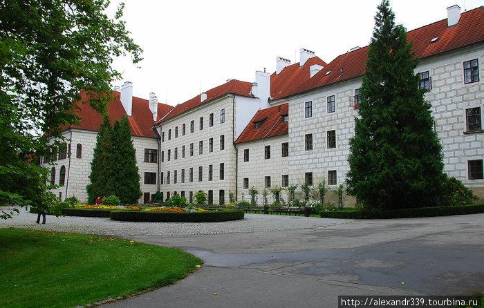 Тршебонь — замок