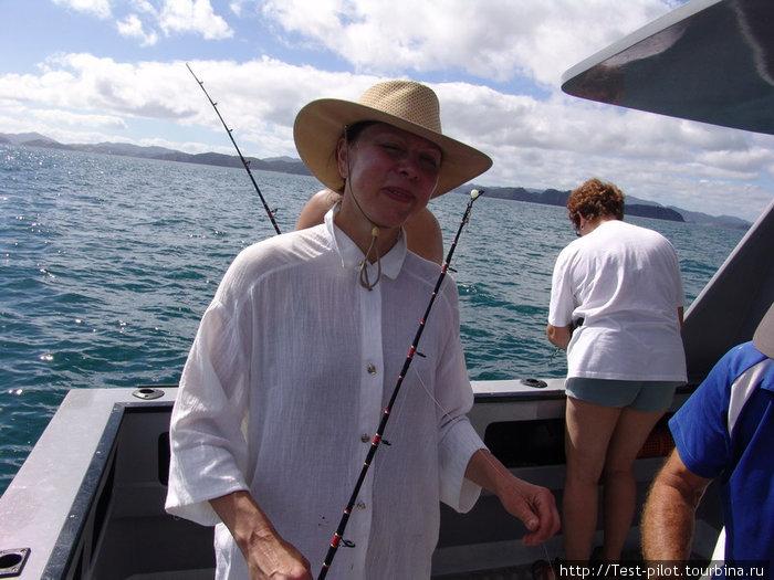 Рыбачка Лида как-то в марте...