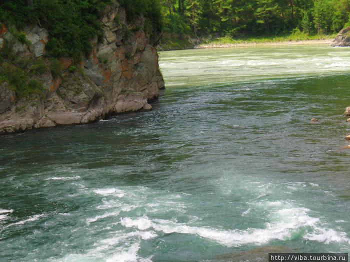 Это стремительные воды Чемала