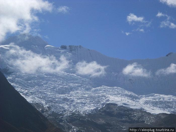 Ледник Чуккунг (Chhukhung Glacier)