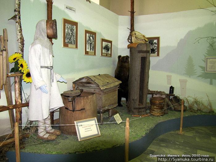 Национальный музей Удмурдской республики им. К. Герда. Экспозиция