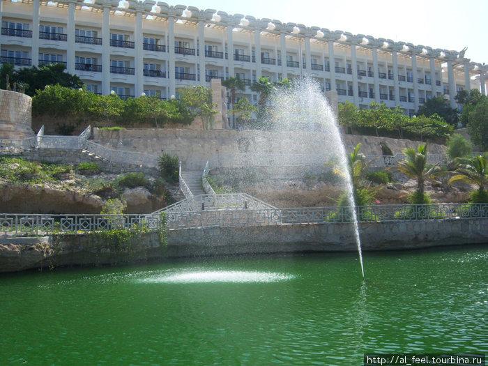 Отель Дариуш, вид со стороны моря
