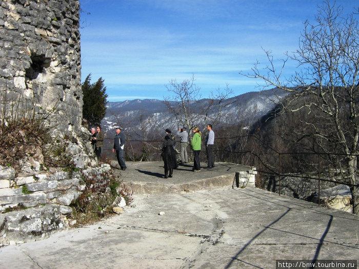 Сторожевая башня анакопийской крепости