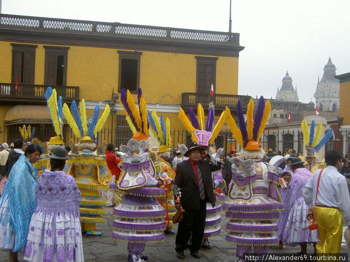 Карнавал в Лиме