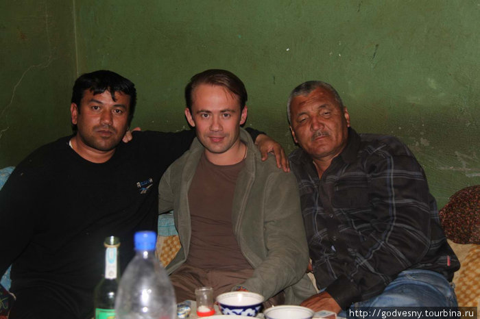 С Махмудом и Аяпом на РРС