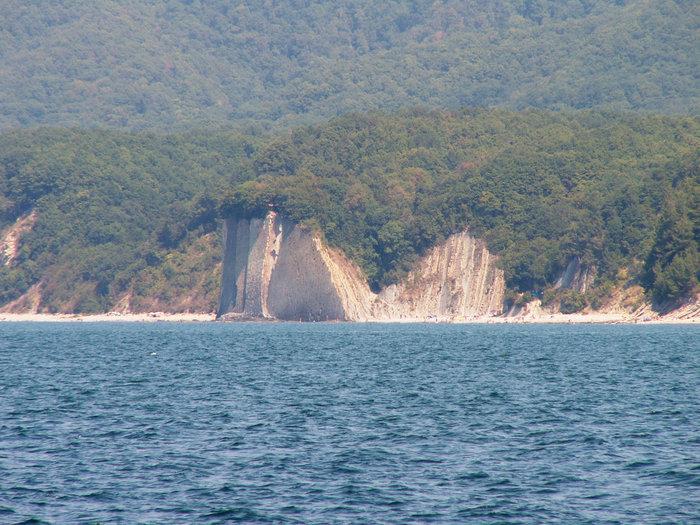 Киселева скала со стороны моря.