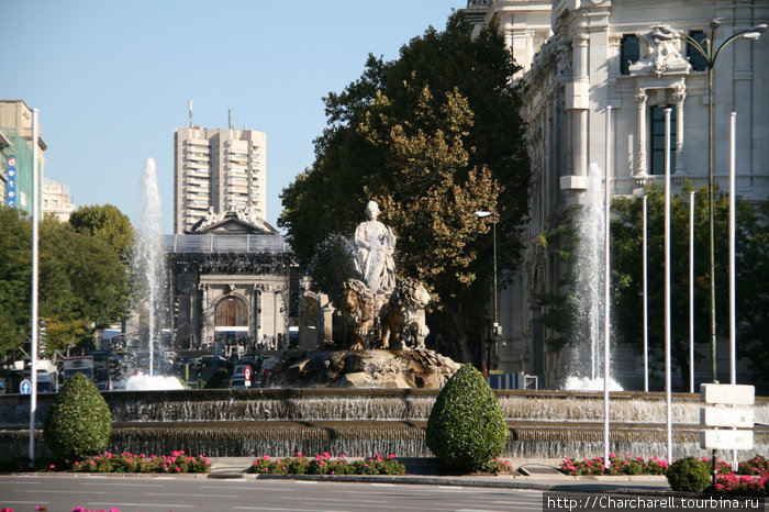 Charcharell*Мадрид. Фонтаны.*Мадрид, Автономная область Мадрид, Испания