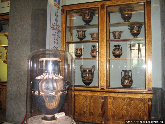 Античные вазы