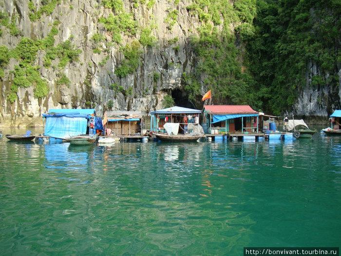 Плавучая деревня рыбаков