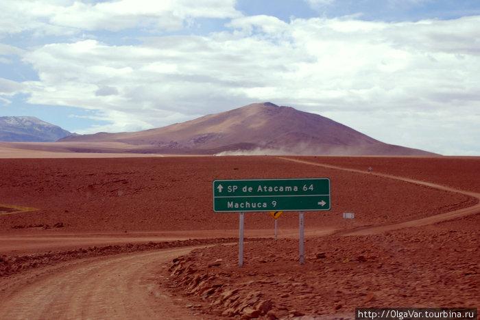Дорога на деревню Мачука