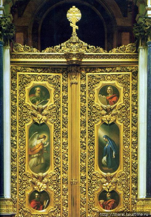 Царские врата главного алтаря