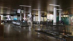 Аэропорт Либревиль, Габон. Потрясающая справочно-информационная система. Работает совершенно автономно. То есть, самолет еще даже не прилетел а табло сообщает о начале регистрации, посадке, взлете ...