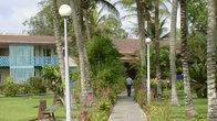 Гостиница имеет свой небольшой парк