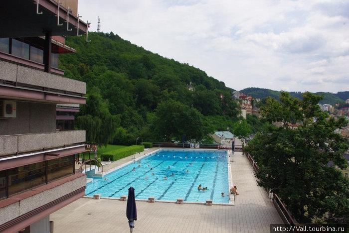 Вот и сам бассейн