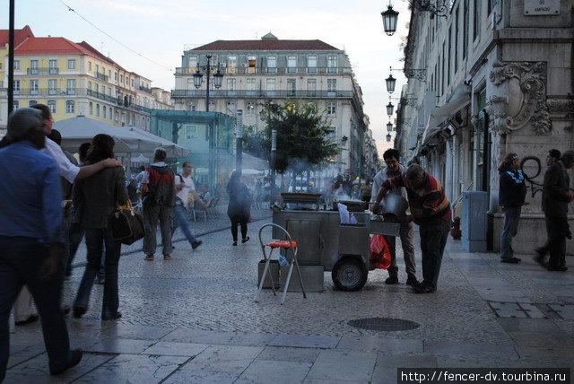 Лиссабонское лето в октябре Лиссабон, Португалия