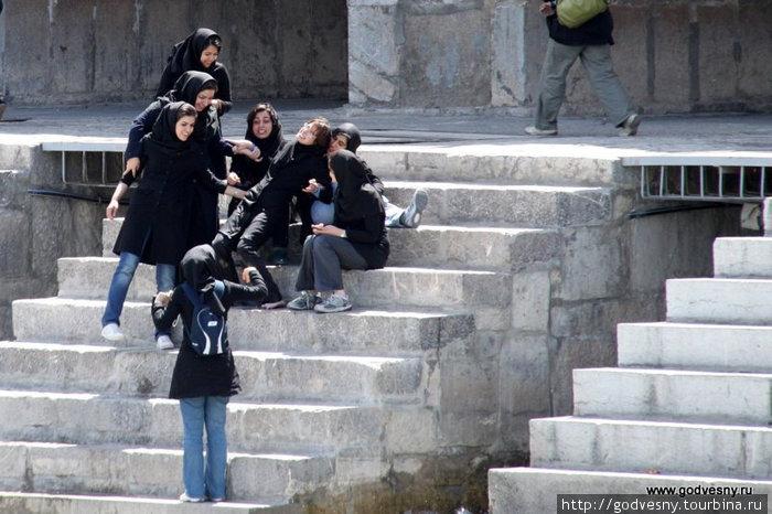 Девушки Ирана Иран