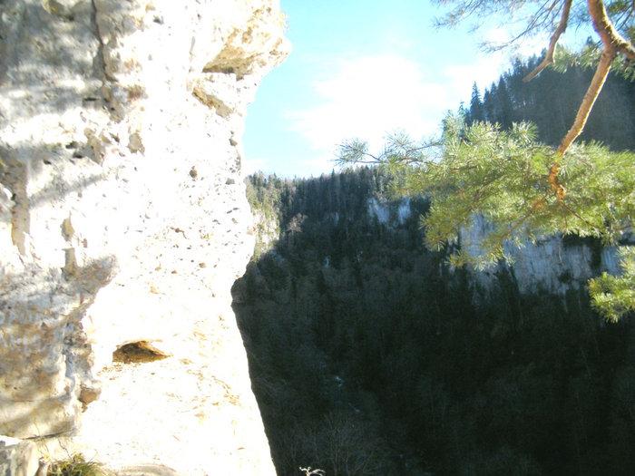 Ущелье речки Курджипс