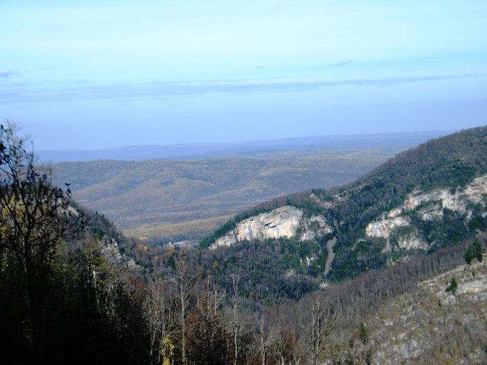 Вид сверху на Гуамку