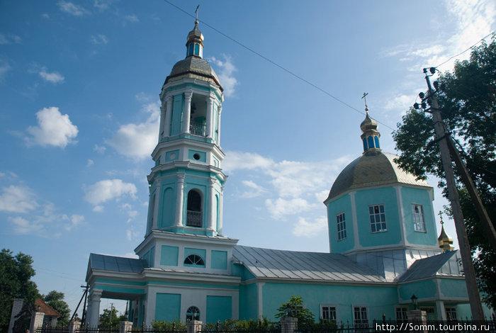 Старообрядческая церковь города. Внутри фотографировать категорически запрещено.