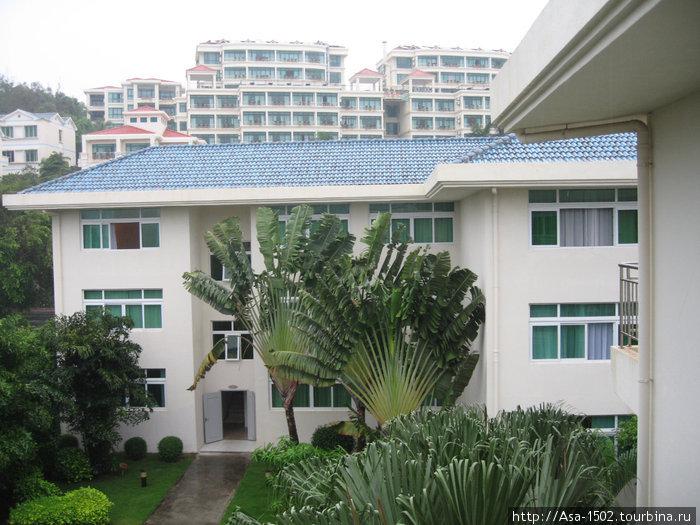 Вид с балкона нашего номе