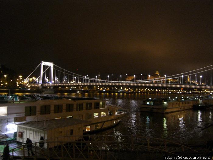 Вид на мост Эржебет