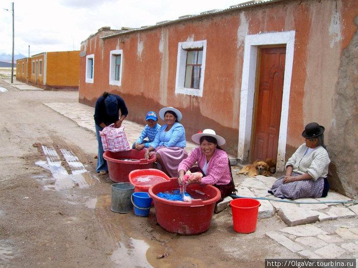В поселке Хатум-Пукара. Обыденная жизнь