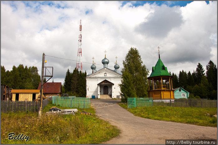 Вохма Сретенский храм (1879)
