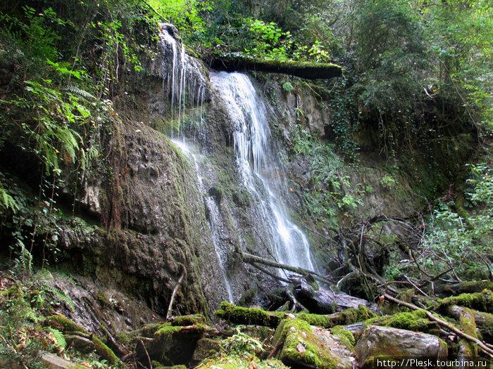 Солох-Аул. Водопад.