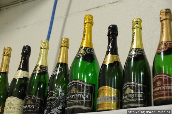 сорта Шампанского Мадам Charpentier(кстати неплохое Шампанское)