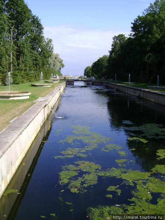 Морской канал был прорыт ещё при жизни Петра I