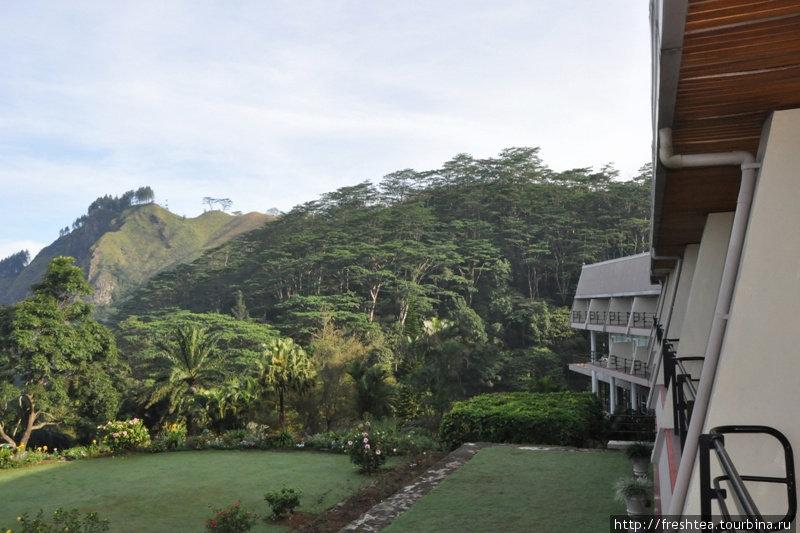 Каждая из комнат — с балконом в сторону горной гряды Хьюнасгирийя.