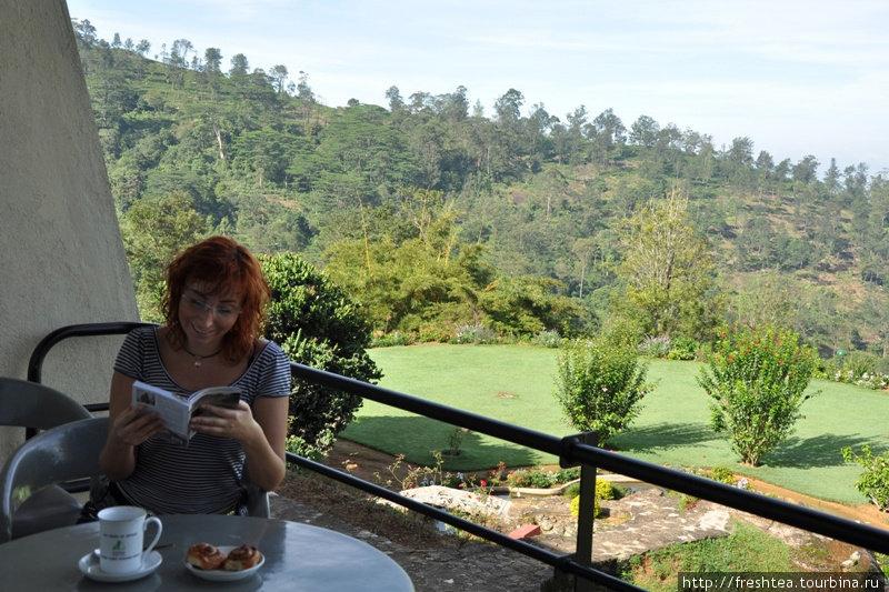 Утренний чай на террасе  — и уже чувствуешь себя баловнем судьбы... отпуск в колониальной Англии!