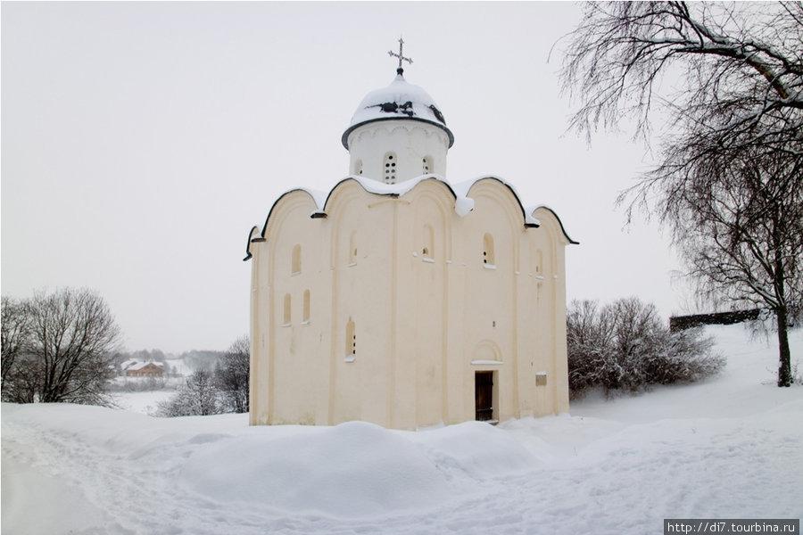 Церковь святого Георгия в Староладожской крепости
