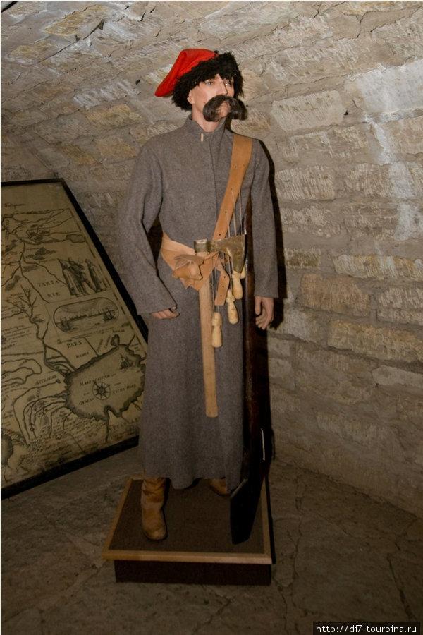 Музей в Старой Ладоге, стрелец