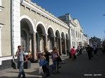 Рано утром мы выехали из Львова на Трускавецкой электричке, а в девять с небольшим были уже в Дрогобыче. Вокзал Дрогобыча.