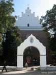 Костел Святого Варфоломея строился на месте бывшего замка  руського воеводы. Заказчиком костела стал сам польский король Владислав ІІ Ягайло в 1392 году.
