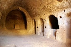 В пещерной церкви