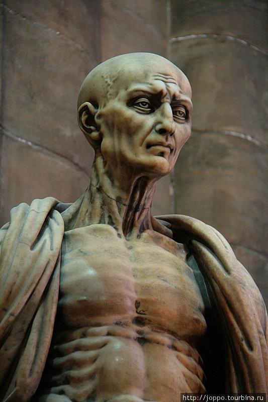 Святой Варфоломей без кожи. Жуткенький такой