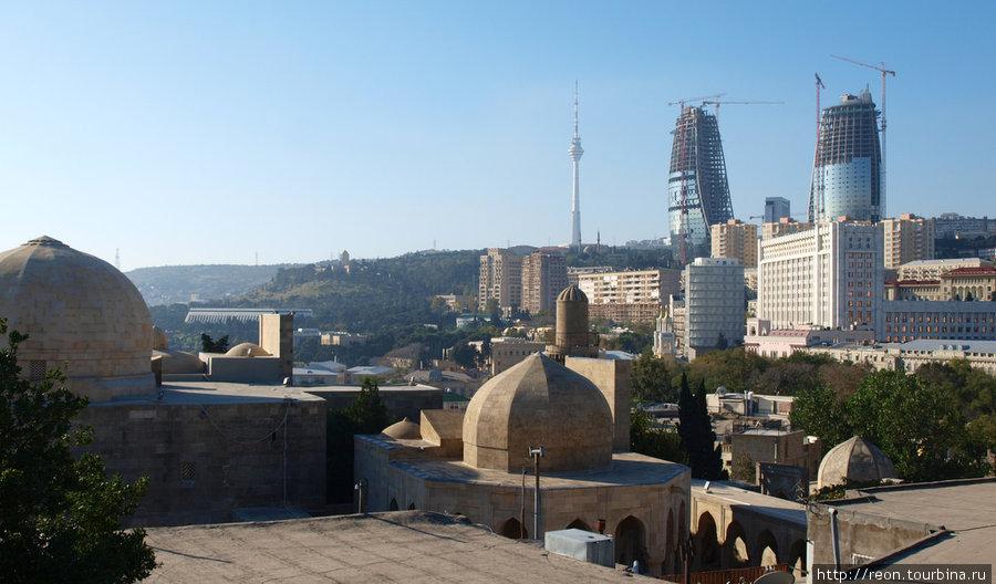 Баку старый, новый и свер