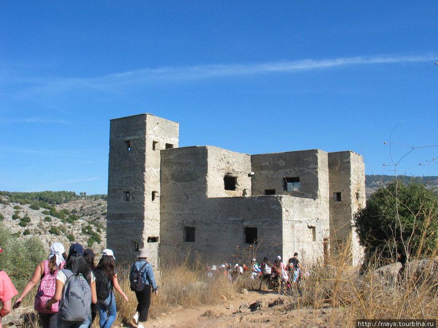 крепость, построенная анг